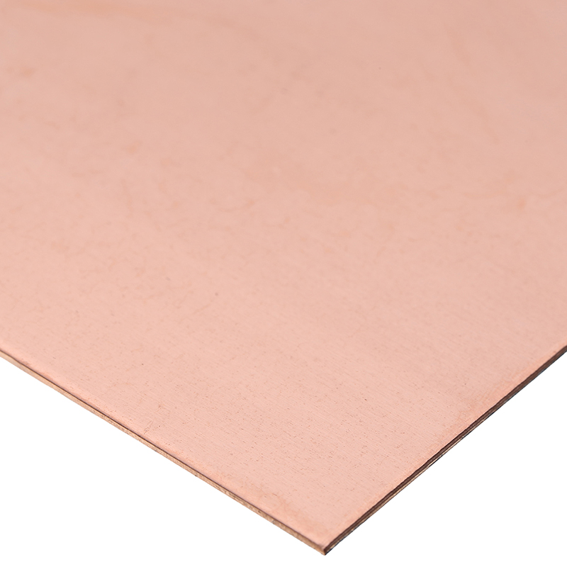 1Pcs 99.99% Pure Copper Sheet Plate DIY Purple Cu Metal Plate High Purity 1mm X 100mm X 100mm For Home Industry Tool