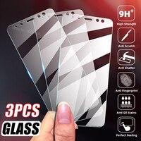 3PCS Schutz Glas Für Xiaomi Mi 10T POCO F3 X3 M3 Pro Redmi 5 Plus Hinweis 9S 9T 9C NFC 5 5A 4X 4A 4 Glas Screen Protector Film