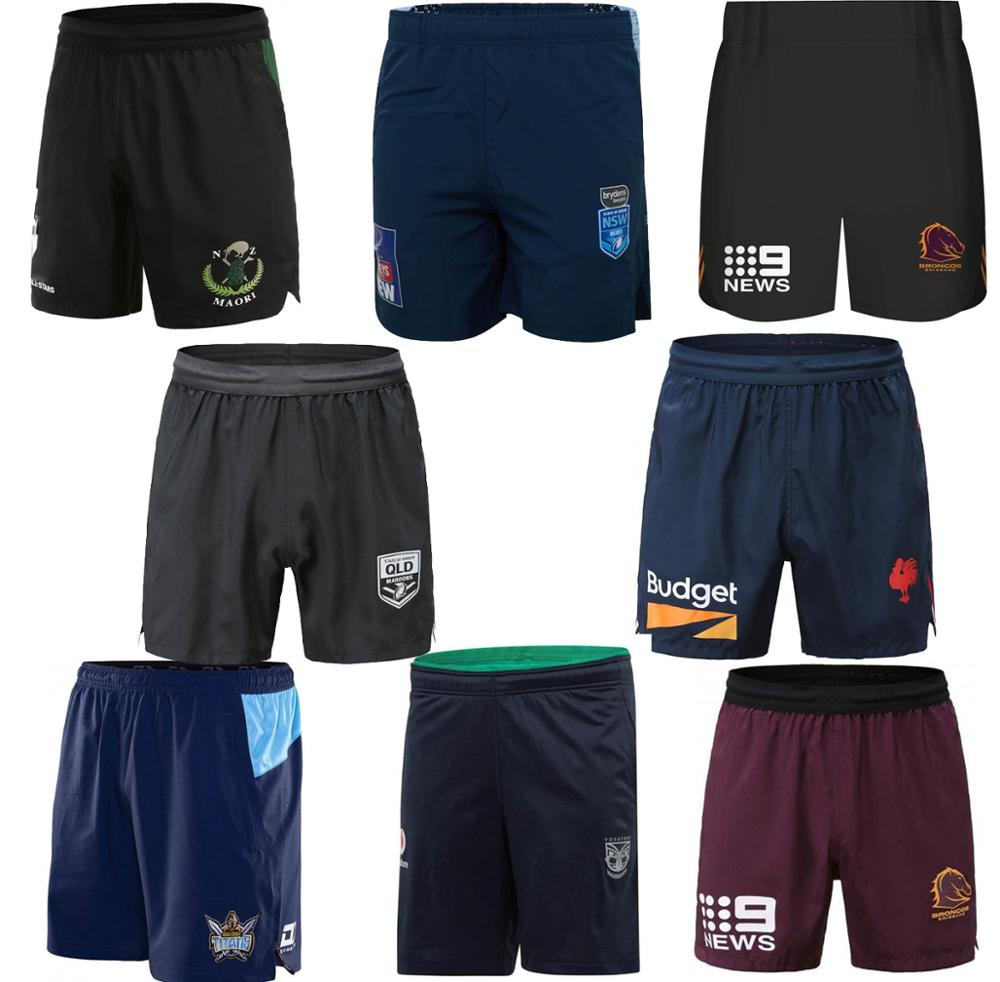 Rugby-Jersey Roosters Blues Maroons Rugby-Shorts Warriors Titans NSW Maori Broncos Australia