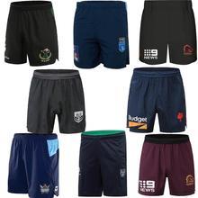 Австралийские шорты для регби Rabbitohs Maori Broncos Maroons NSW Blues Warriors Roosters Titans Rugby Jersey, S-5XL, бесплатная доставка, 2020