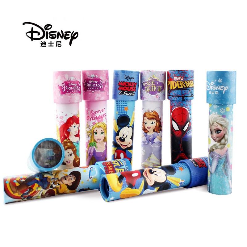 Figuras de Disney Toy Story 4, caleidoscopio colorido de Frozen, Mickey Mouse, Woody, Spiderman, Elsa, regalos de Navidad para chico