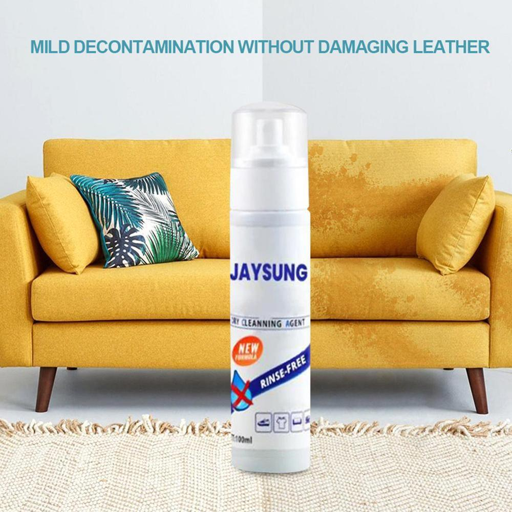 Convenience Detergent Down Jacket Wash-free Spray Waterless Clothing Cleansing Foam Liquid stain remover Dry Cleaning Agent 1