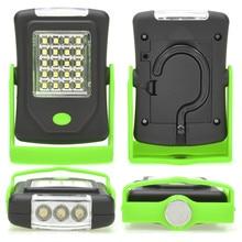 Супер яркий 23 светодиодный магнитный рабочий светильник, светильник-вспышка, карманный светильник linternas со складным подвесным крюком для улицы, кемпинга, светильник ing