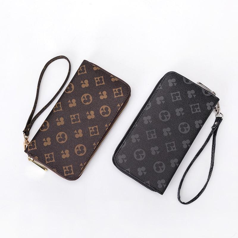 Women's Wallet New Fashion Large Capacity Presbyopia Handbag Female Long Section Wild Wallet Clutch Bag