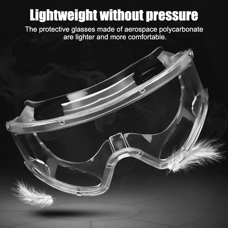 Spot Antivirus Bacteria Goggles Protective Safety Goggles Anti-Splash WindProof Glasses For Everyday Life Transparent