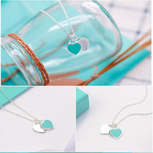 Wholesale Heart Necklace For Women Silver Stainless Steel Pendants Jewelry Womens Custom Name