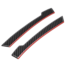 1 Pair Carbon Fiber Rearview Mirror Anti-rub Sticker Car Styling Decoration For Mercedes w204 w212