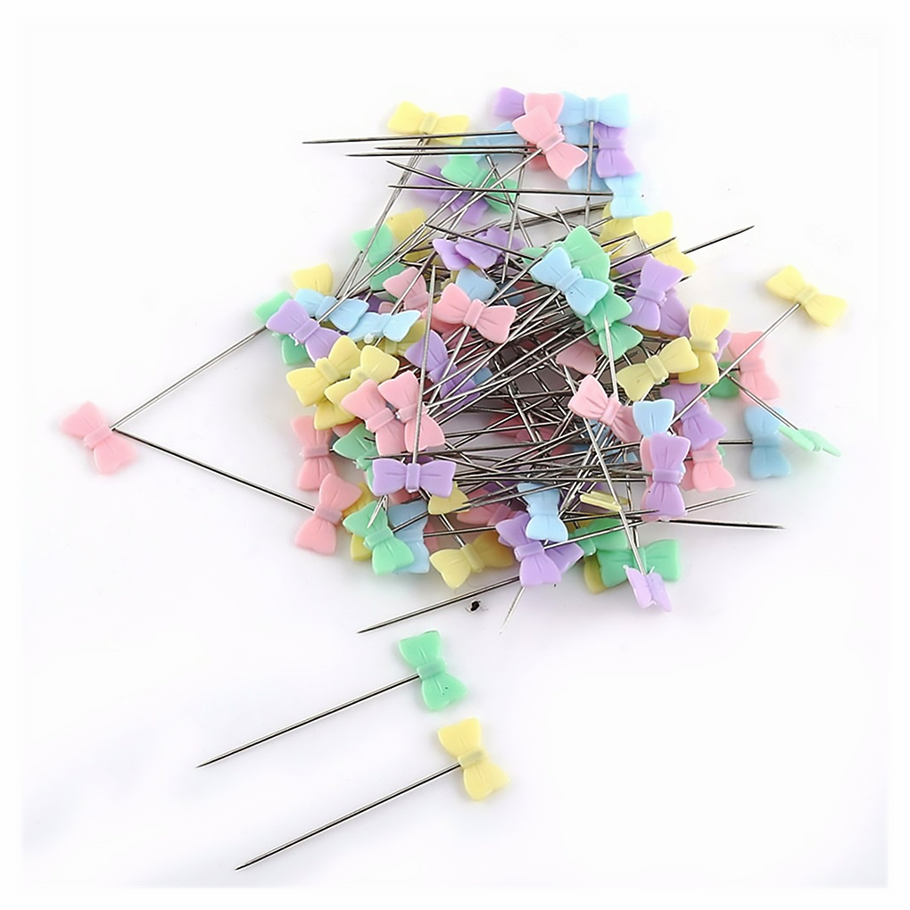 100/250Pcs Stainless Steel Dressmaking Pins Embroidery Patchwork Pins Accessories Tools Sewing Marker Needle DIY Sewing Tool-5