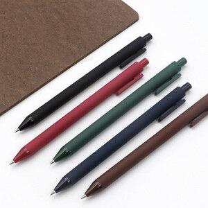 Image 5 - 5 adet/paket Youpin KACO 0.5mm işareti kalem imza kalem pürüzsüz mürekkep yazma dayanıklı İmza 5 renk öğrenci okul/Ofis çalışanı