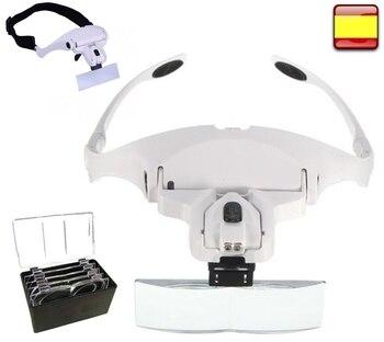 Lupa de reloj, Joyero, reparación Electrónica, Soldar, precisión, gafas para Leer