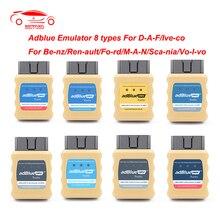 Adblue emulador euro 4/5/6 obd2 obd2 obdii adblueobd2 nox ad azul emulador para scania para daf para renault para iveco volvo