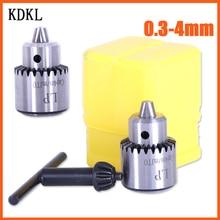 Electric Drill Chucks Adapter Mount JTO Taper Cap 0.3-4mm fit Lathe PCB Mini Drill Press for 6mm Motor Shaft Shank Rotary Tools