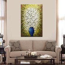 Современная Абстрактная 3d картина маслом на холсте ручной работы
