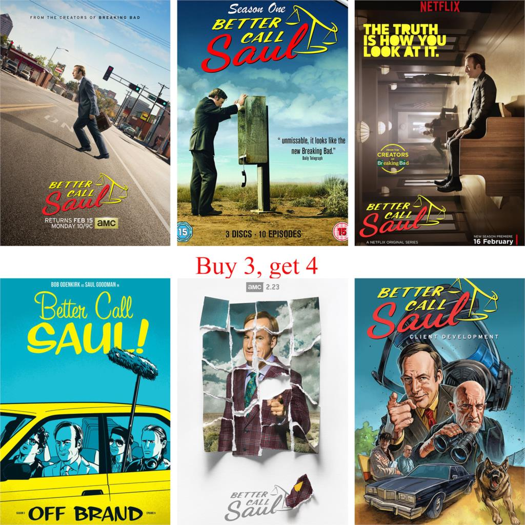 Better Call Saul Posters High Definition Glossy Paper Prints Wall Stickers