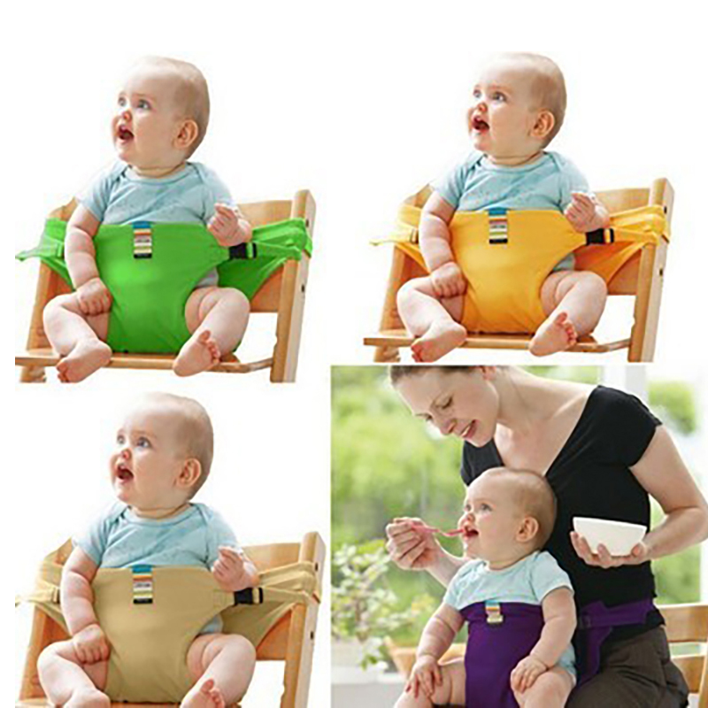 Infant Chair Seat Dining Chair Safety Belt Baby Feeding Booster Seat Toddlers Children Safety Belt For Boys Girls Dropshipping