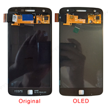 """5.5""""For Motorola Moto Z Play LCD Display Touch Screen Digitizer For Moto Z2 Play LCD XT1635 XT1635 01 XT1710 Screen"""
