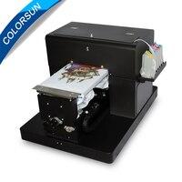 Планшетный принтер Colorsun A4 для струйной печати футболок