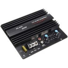 12 В 600 Вт PA-60A HIFI бас без потерь Динамик Звуковой Модуль-усилитель высокой мощности автомобильные аудиоаксессуары Прочный моно канал