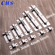 Factory Direct Selling Hardware Stainless Steel Bolt Security Door Bolt Insert  Bolt