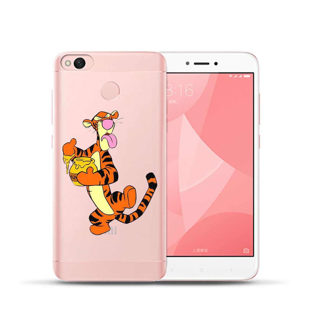ミッキーティガー DC 電話ケース Xiaomi MI8 Redmi 6 6A 4 4A 4X 5A Note4 4X Mi6 5X A1 ソフトシリコンカバー Coque 携帯電話シェル