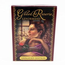 Gilded Reverie Lenormand Oracle Card Full English 47 Tarot Cards Divination Fate suit for table games карты оракул u s games systems oracle cards dream