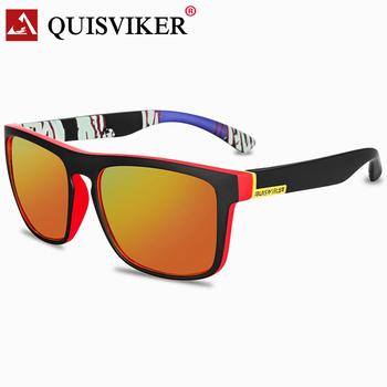 2020 nowe polaryzacyjne okulary wędkarskie mężczyźni kobiety okulary sportowe gogle na zewnątrz jazdy UV400 Sun (bez papierowego pudełka) tanie i dobre opinie QUISVIKER Spolaryzowane okulary