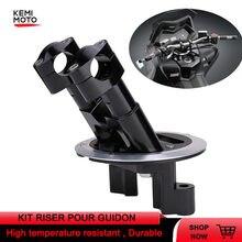 Kit da motocicleta riser pour guidon lidar com riser para yamaha tmax 500 2008 -2012 tmax 530 2012-2014 2015 2016 2017 2018 peças dx