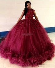 Бальное платье в африканском стиле бордового цвета платья для