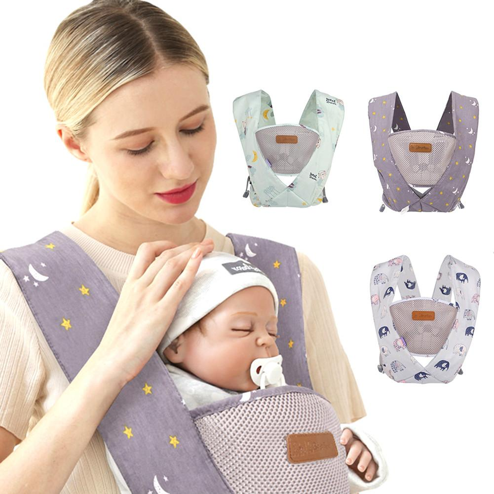 Light Effortless Ergonomic Baby Carrier Backpack Cotton Baby Carrier Wraps Newborn Baby Sling Portabebe Ergonomico Baby Kangaroo