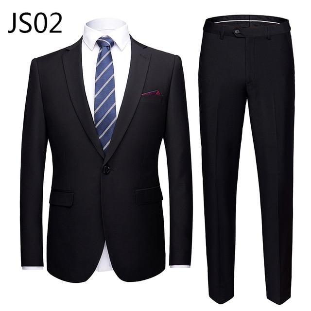 Мужской деловой костюм из 2 предметов фирменный Super Quality 2