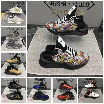 European and American casual men #8217 s leather shoes lovers shoes KGDB Y3 shoes women #8217 s shoes sports shoes running shoes Daddy shoes tanie i dobre opinie KGDBY3 Mokasyny CN (pochodzenie) Na wiosnę jesień PRAWDZIWA SKÓRA Skóra bydlęca RUBBER Sznurowane Dobrze pasuje do rozmiaru wybierz swój normalny rozmiar