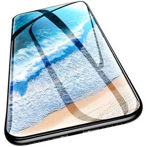 Image 4 - 3Pcs Volle Abdeckung Screen Protector Für iPhone 6 7 8 6S Plus Gehärtetem Glas Auf Die Für iPhone X XR XS MAX Schutz Glas Film