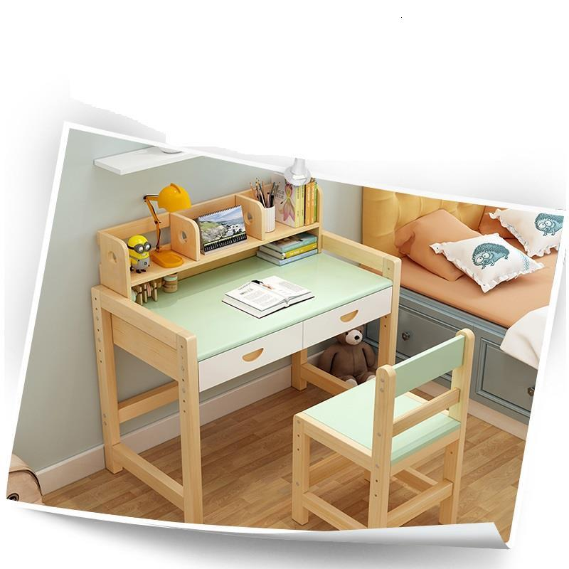 Estudo Mesinha Mesa Y Silla Infantil Tavolo Per Bambini Baby Children Child Adjustable For Bureau Enfant Kinder Kids Study Table