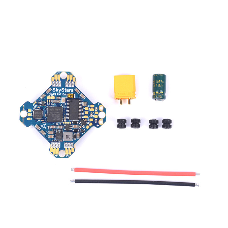 Skystars Kramam Betaflight F411 AIO F4 Flight Controller &15A 4-IN-1 ESC 2-4S Dshot 300/600 For RC Drones