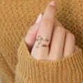 Женская мода Custom двойной Имя ювелирные изделия для женщин, ювелирные изделия из нержавеющей стали с персональными буквами кольцо Bague Femme 2021 ...