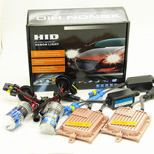 55W AC 12V HID HEADLIGHT H7 H11 9005 9006 auto xenon H1 H3 H4-3 880 881 6000K 8000K 4300K 10000K headlight kit(China)