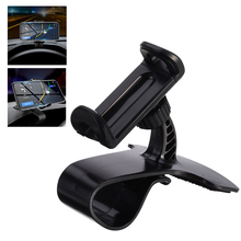 Stand Holder For Mobile Cell Phone  HUD Type Clip On Car Dashboard Mount GPS Bracket Accessories
