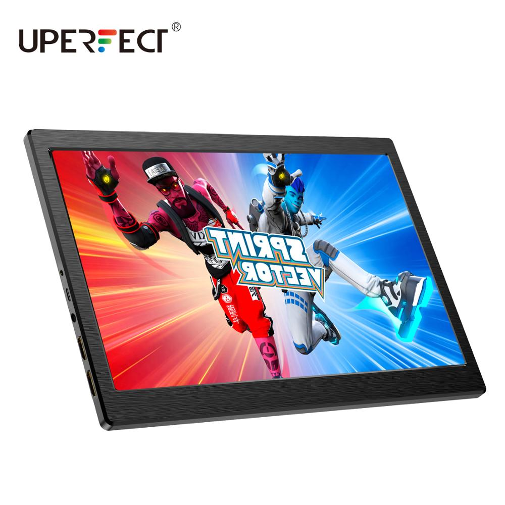 Portable Monitor 7 Inch Gaming Display HD IPS HDR 1280×800 Built-in Speaker USB Powered With Dual Mini HDMI DC HP For PS4 Xbox