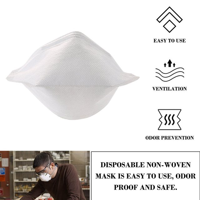 PM2.5 Protective Mask Dust Mask Antivirus flu anti infection Particulate Respirator Anti-fog Safety Face Masks Breathing Mask 4
