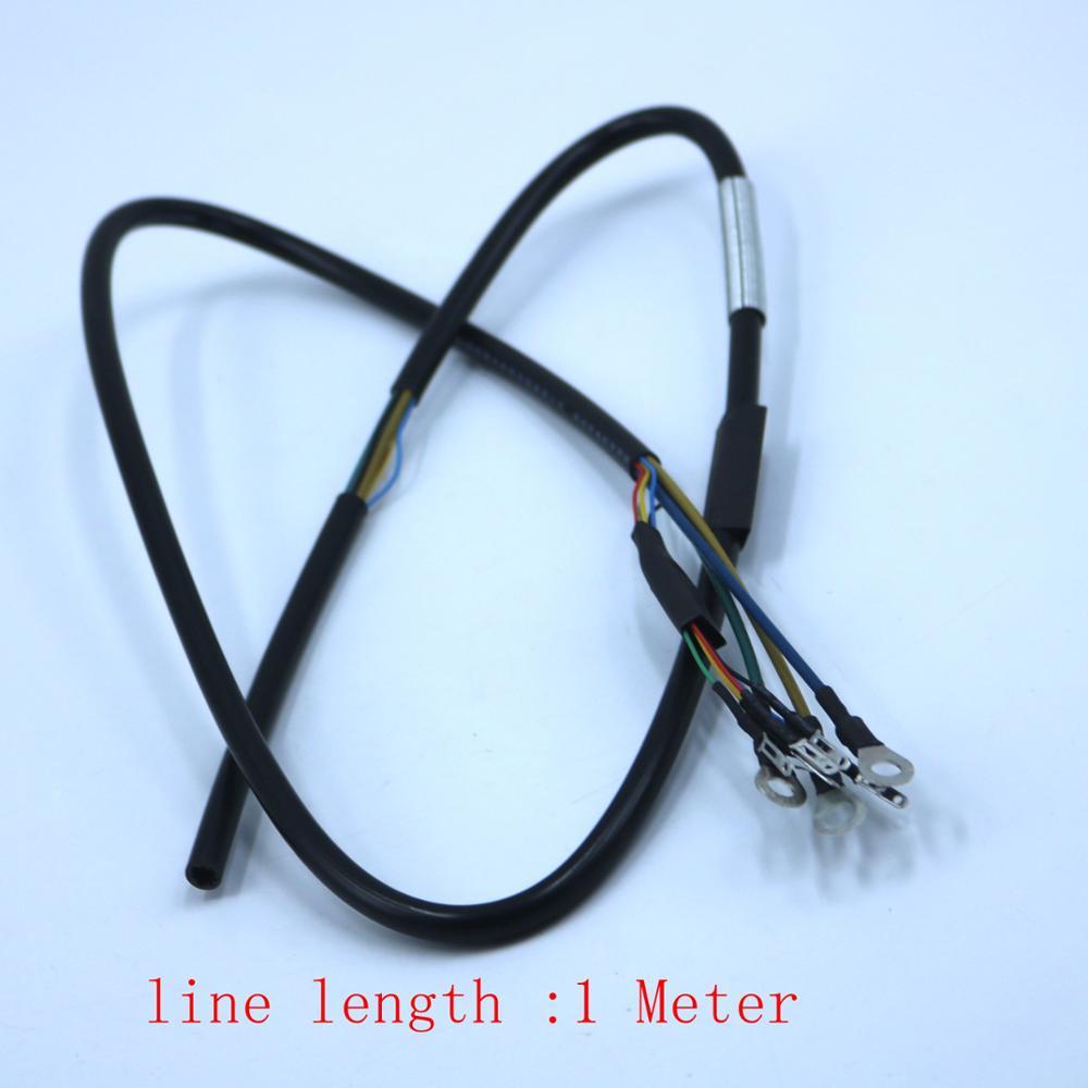 มอเตอร์สายไฟ/สายสำหรับ 1500 brushless DC มอเตอร์ (3*2.5 มม.มอเตอร์เฟส + 0.2*5pcs HALL SENSOR สาย)