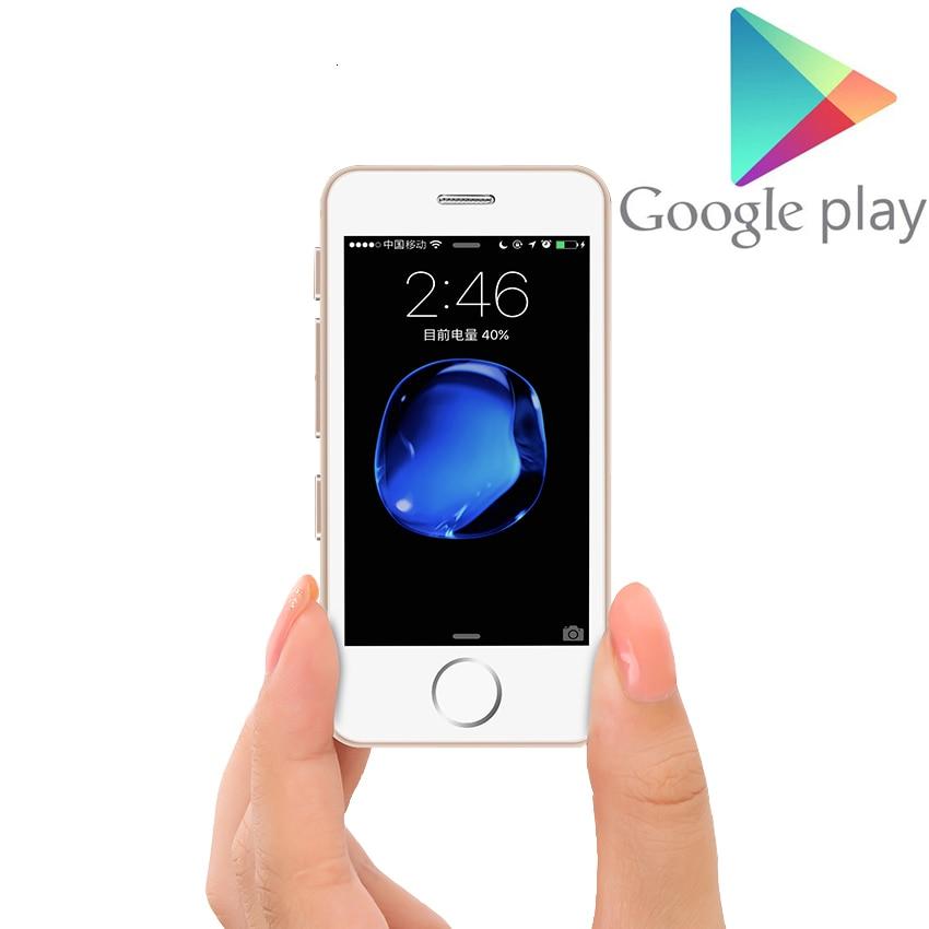 Поддержка Google Play маленький мини мобильный телефон Android 6,0 MT6580 четырехъядерный Разблокировка 3G 4G смартфон Melrose S9 L3 мобильный телефон