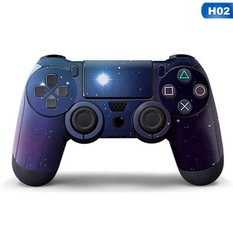 Sky Full Cover Controller Stickers For Playstation 4 Dualshock 4 Gamepad Vinyl Skins Decals Play Station 4 Skin
