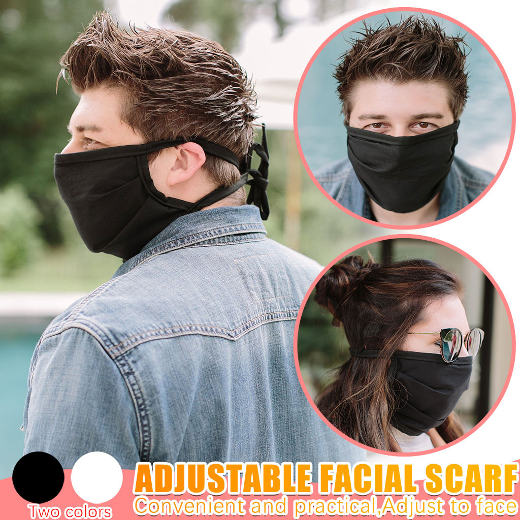 Adjustable Face Cloth Face Facemask Protective Fabric Cover Mouth Topmask 3 layer Mouth Muffle Cover Fast Innrech Market.com
