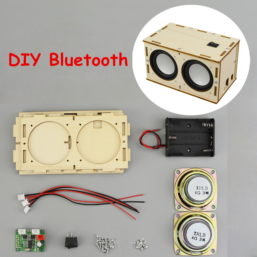 Educational Toys For Children DIY Bluetooth Speaker Material Package Physical Science Experiment School