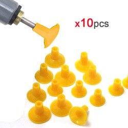 10 sztuk zawór młynek do gumowa przyssawka żółty dla samochodów motocykl elektro-zawór pneumatyczny szlifowanie puchar