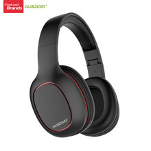 Ausdom M09 casque sans fil Bluetooth 4.2 casque pliable basse profonde Bluetooth casque pour iPhone Xiaomi Support TF carte(China)