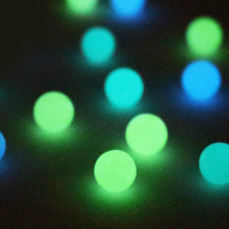 OD 6mm Luminous Terp Pearls Ball Terp Pearl For Quartz Banger Nails Glass Bongs 2