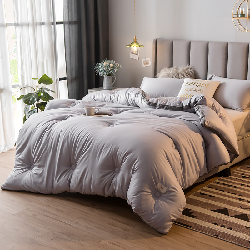 CF Summer/winter Pure Color Air Conditioner Cool Thin Quilt New Home Textile Bedding Comforters Duvets High Quality Comfortable