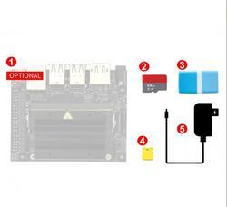 Jetson Nano Developer Kit Acce A (wersja ue)  potężny komputer do tworzenia sztucznej inteligencji obsługiwany przez NVIDIA JetPack z kartą TF
