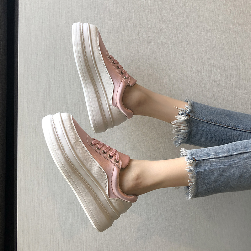 Sneakers Creepers British-Style Platform Sports-Shoes Fashion Women's New Summer Small